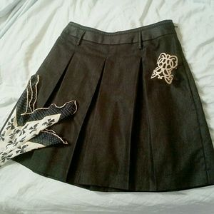 🎈Knee length pleated skirt